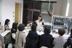 クリナップ神戸ショールーム雑穀料理イベント